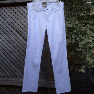 Lucky Brand Denim - Lucky Brand White Straight Jeans