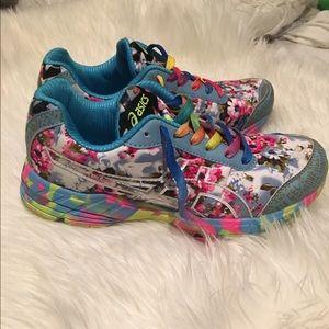 asics floral sneaker