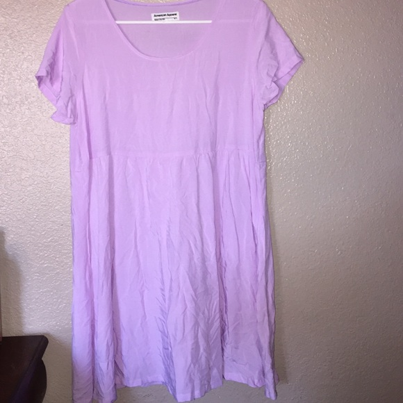 off American Apparel Dresses & Skirts Lilac Baby