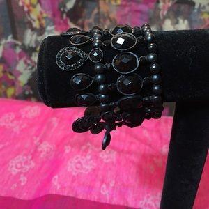 BKE Jewelry - Great black lace bracelet.