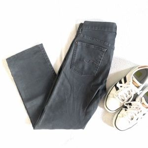 HP🎉 7 For All Mankind Gray Standard Jeans 29x27