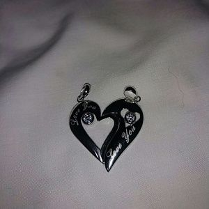 His and Hers necklaces new no tags