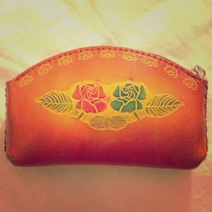 Handbags - leather pouch