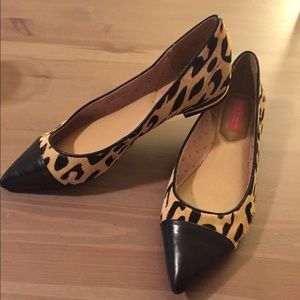 Versace Animal Printed Toe Flat Shoes