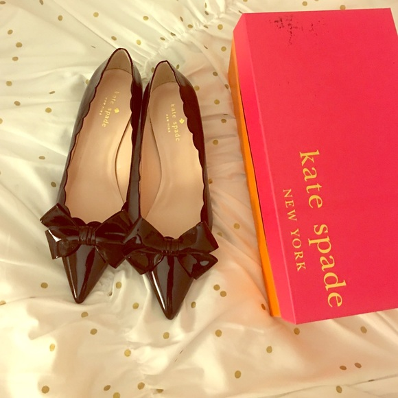 f59fa01848f8 Kate spade black Maxine kitten heels