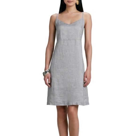 5a9b3e75665 Eileen Fisher Dresses   Skirts - EILEEN FISHER twinkle linen slip dress  glitter