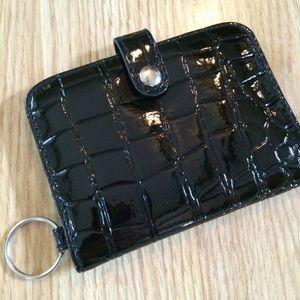 Handbags - Black Keychain Wallet