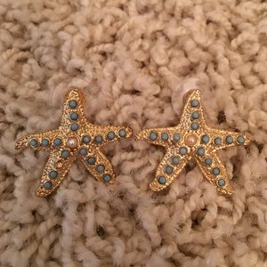 Lilly Pulitzer Starfish Stud Earrings