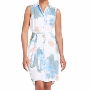 Calvin Klein Collection Dresses & Skirts - CK Floral Printed Shirtdress NWT