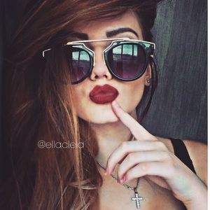 New Fashion Women Sunglasses Black