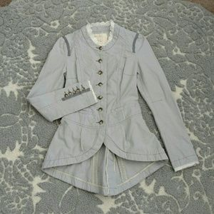Free People Victorian Style Jacket Size 0
