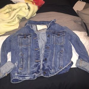 Abercrombie and Fitch denim jacket size xs.