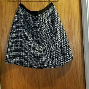 Romy Dresses & Skirts - Black and white Checkered Business Skirt