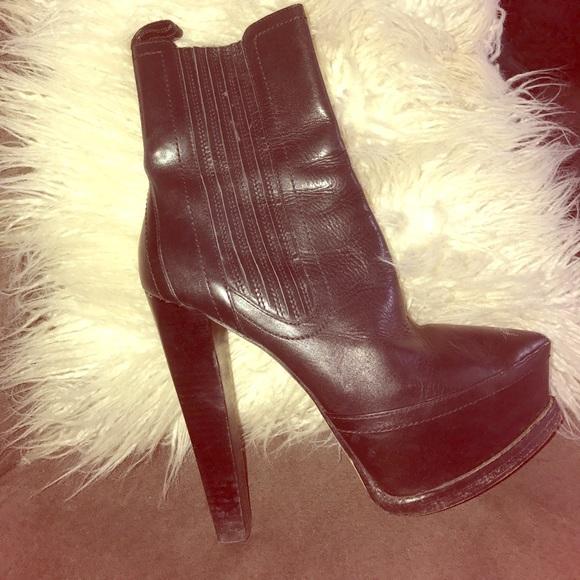 264a8a1f515 Alexander Wang Shoes - Alexander Wang Platform Fall ankle boots