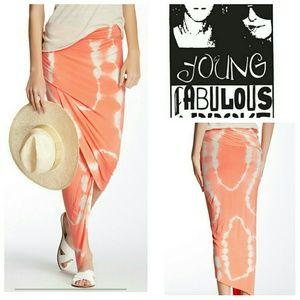 Young Fabulous & Broke Dresses & Skirts - Young Fabulous and Broke Asymmetrical Skirt