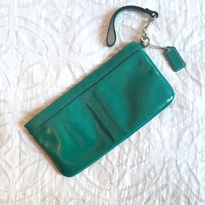 Coach Patent Leather Wristlet