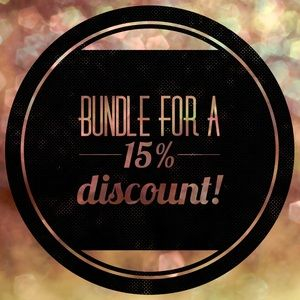 Other - Bundle for a 15% discount!
