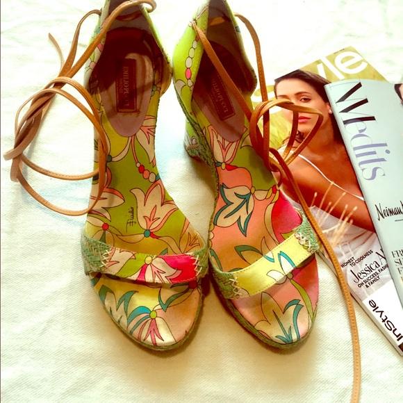 c30e6b8687d Emilio Pucci Shoes - Emilio Pucci Sandals