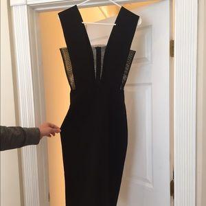 Solace London Black Dress Size 4