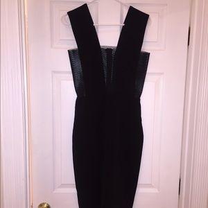 Black Solace London Dress Size 6