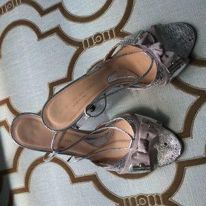 Alessandro Dell'Acqua Shoes - Alessandro Dell'acqua silver heels