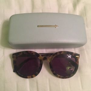Karen Walker Accessories - Authentic* 'Super Duper Strength' in Tortoise