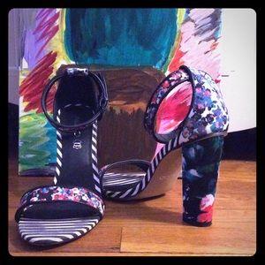 Aldo Shoes - Floral & Stripped heels