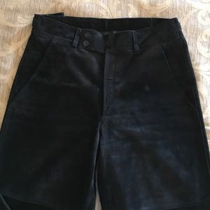 Gucci Black Suede Leather pants - Menswear style