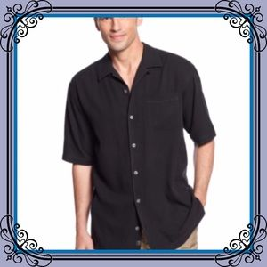 Tommy Bahama Other - Tommy Bahama CLASSIC Black Camp Shirt