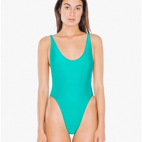 a594f0642c209 American Apparel Other - AA nylon tricot high cut one piece swim suit