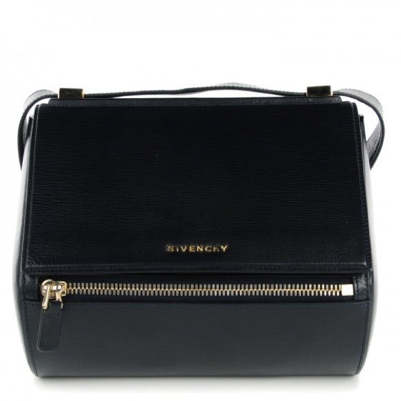 b9fbc6ce15 Givenchy pandora box medium in textured black calf