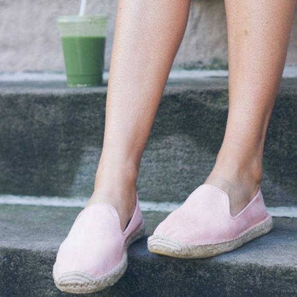 GAP Shoes | Gap Pink Suede Espadrilles