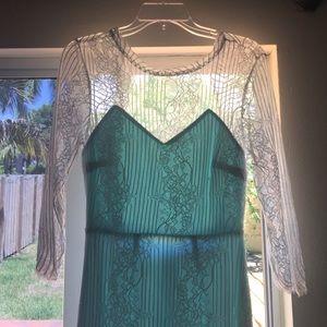 Etiquette Clothiers Dresses & Skirts - Lace midi dress