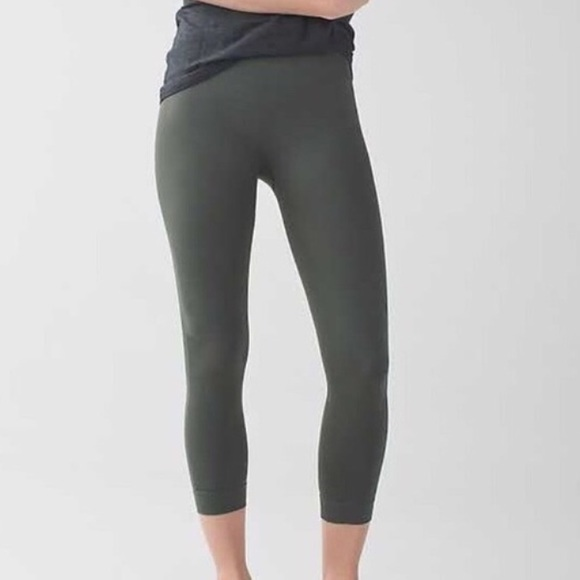41% off lululemon athletica Pants - Lululemon hunter green ...