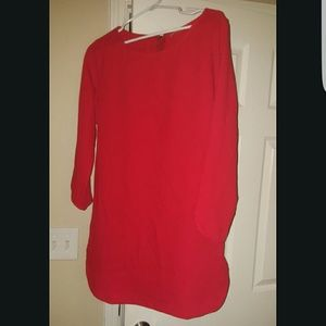 Red Casual Summer Dress size L