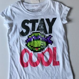 Nickelodeon Other - NWT TNMJ Stay Cool Graphic Tee