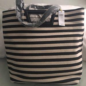 BCBG stripe bag