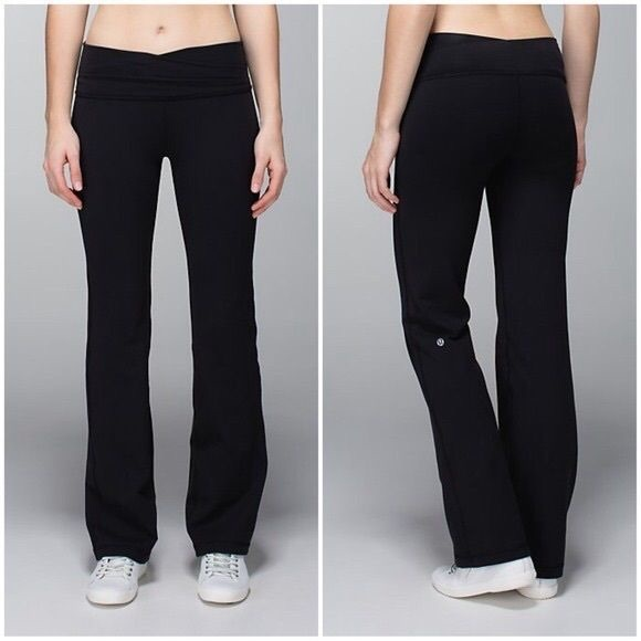 23% off lululemon athletica Pants - NEW Lululemon Flare Yoga Pants ...