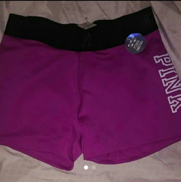 VS Pink Ultimate Yoga Shorts From
