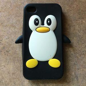 Accessories - iPhone 4 penguin case