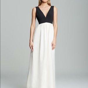 Jill by Jill Stuart Black & Ivory Gown, Size 6