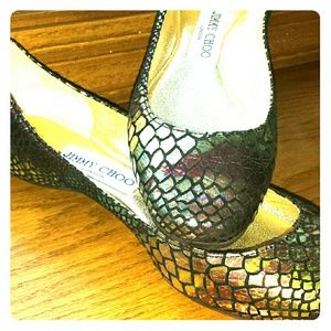 NEW Jimmy Choo Flats Size 35 Italy (Size 5 US)