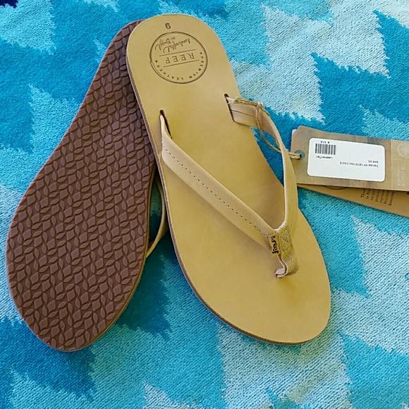 mannen / man promotie lage kosten Reef women's Chill leather sandals
