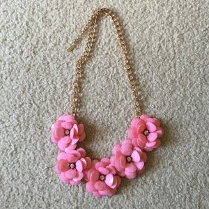 Baublebar rose petal statement necklace