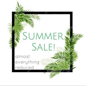 SUMMER SALE! everything reduced!!