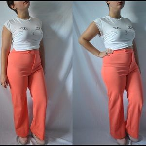 Vintage 60s / 70s Hippie High Waisted Pants