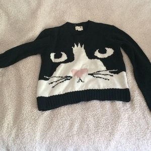 Cozy cat sweater
