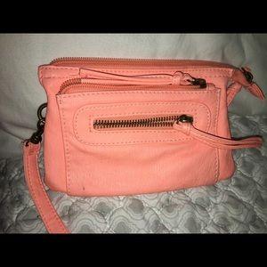 Handbags - Coral clutch