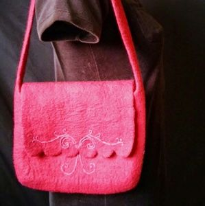 11x9 FELTED WOOL Bag