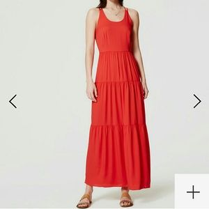 LOFT gorgeous flowy maxi dress